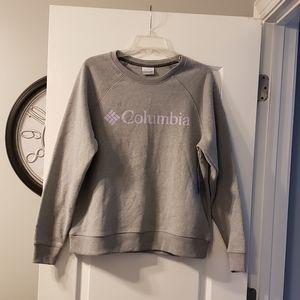 NWT Columbia gray sweatshirt size L